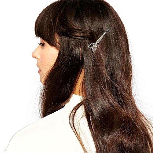 Girls Cute Fashion Scissors shape Hair Clip Hair Accessories Headpiece ()
