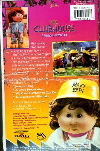 Cabbage Patch Kids: The Clubhouse; A Musical Adventure [VHS]