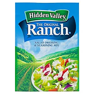 Hidden Valley Original Ranch Salad Dressing and Seasoning Mix, 1.0 Ounce (Pack of 24)