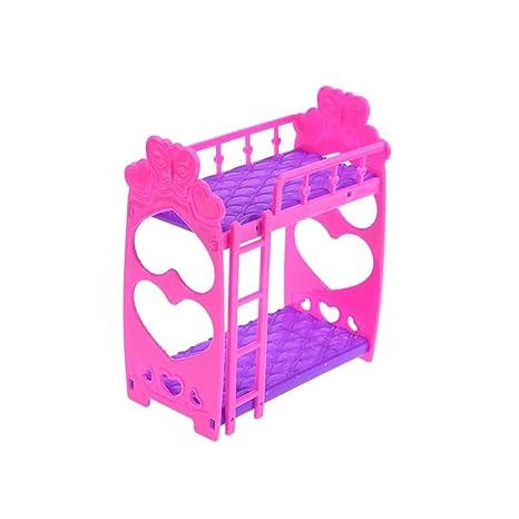 Letto Di Barbie Matrimoniale.Nicetourne 1 Pezzi Bambola Mobili Casa Di Plastica Rete Matrimoniale