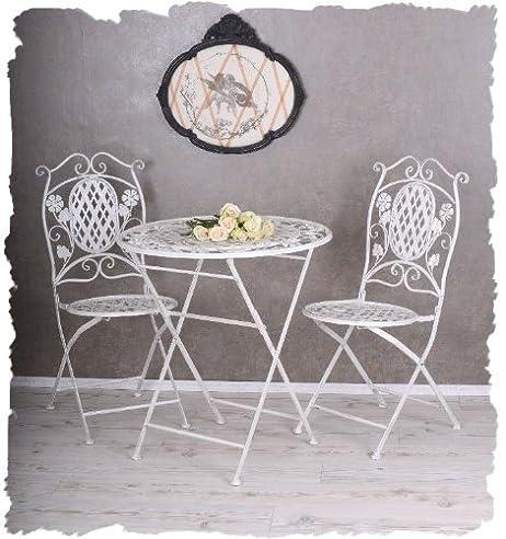 Amazon.De: Garten Eisenmöbel Sitzgruppe Tisch & Stühle Gartenmöbel