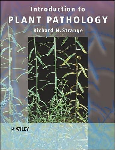 Introduction to Plant Pathology: Amazon co uk: Richard N  Strange