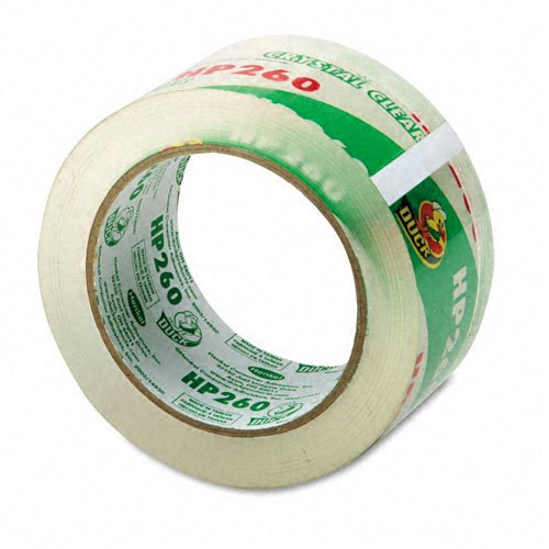 - Duck Brand HP260 High Performance 3.1 Mil Packaging Tape, 1.88-Inch x 60 Yard Roll, Crystal Clear, Single Roll (HP260C)