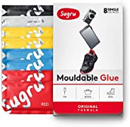 Sugru Moldable Glue - Original Formula - All-Purpose Adhesive, Advanced Silicone Technology - Holds up to 4.4 lb - Classic C