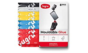 Sugru Moldable Glue - Original Formula - Classic Colors 8-Pack