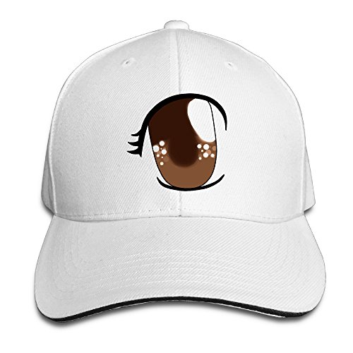 brown-eyecotton-sandwich-peaked-cap-flat-hat-for-adult