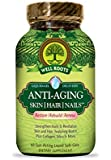 Well Roots Anti-Aging Skin, Hair and Nails Capsules, 60 Count