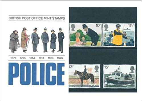 150th ANNIVERSARY of the METROPOLITAN POLICE British Post Office Mint British Collector Stamps in Presentation Pack - 1979 *** MNH ** No. of Stamps: 4 *** Guaranteed Brand New, Well-Packaged, Gift-Wrapped Free