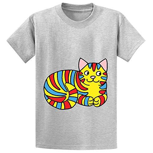 chas-striped-cat-girls-crew-neck-short-sleeve-t-shirt-grey