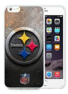 Fashionable iPhone 6 Plus/iPhone 6S Plus TPU Case ,Unique And Popular Designed Case With Pittsburgh Steelers 30 White iPhone 6 Plus/iPhone 6S Plus TPU Great Quality Screen Case