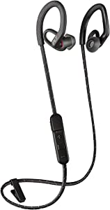 Plantronics BackBeat FIT 350 Wireless Headphones, Stable, Ultra-Light, Sweatproof in Ear Workout Headphones, Black