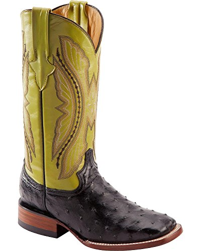 Ferrini Ladies Full Quill Ostrich Sq Botas Lima