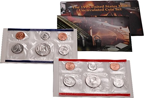 1995 P, D U.S. Mint - 10 Coin Uncirculated Set with CoA Uncirculated 1995 Mint Set