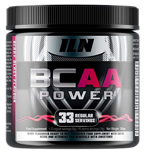 Iron Labs Nutrition, BCAA Power - 15,000mg BCAAs Per Serving - Intra...