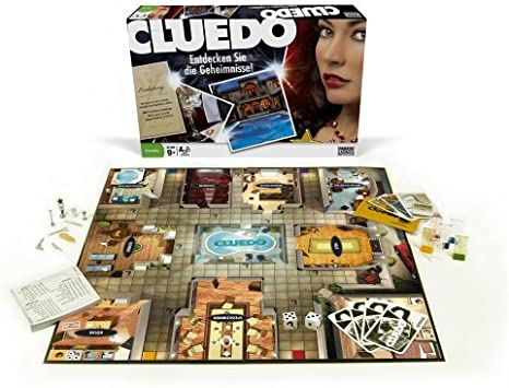 Hasbro Parker 40613100 - Cluedo clásico: Amazon.es: Juguetes y juegos