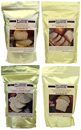 The Prepared Pantry Bread Mix Sampler Pack, 83.2 Ounce ()