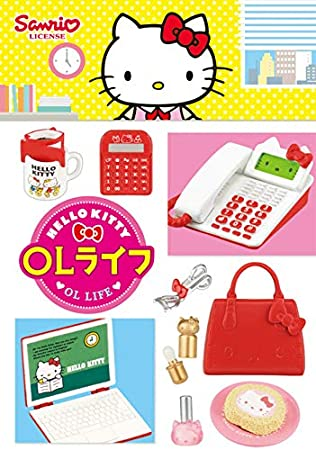 New Japan Re-ment Miniature Sanrio Hello Kitty Shopping Street rement No.04