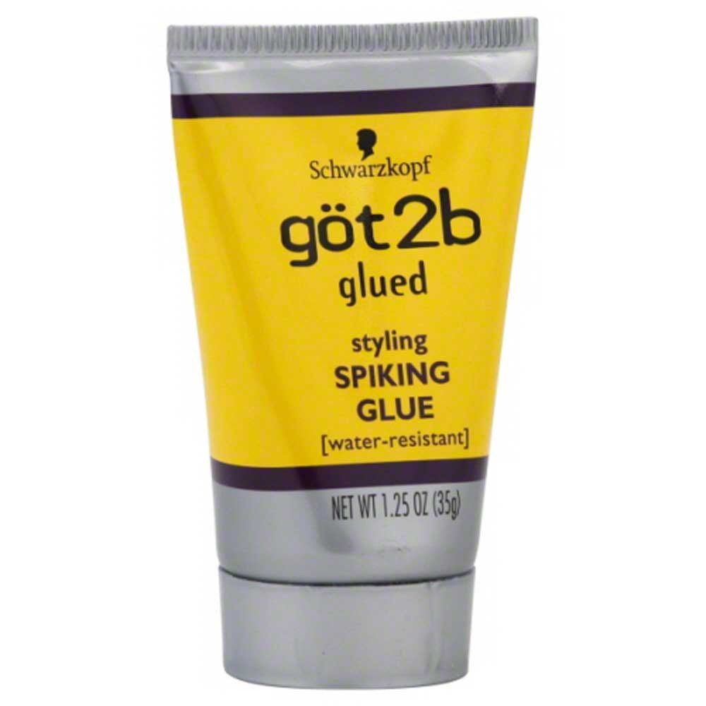 Glued Styling Spiking Water Resistant Glue Unisex by Got2B, 1.25 Ounce