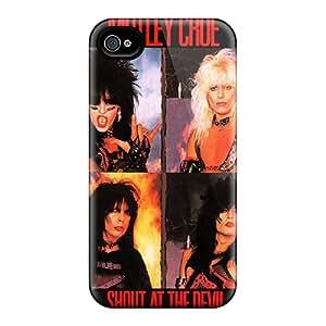 Apple Iphone 4/4s PnI11268wxpL Allow Personal Design Beautiful Motley Crue Image Protective Hard Cell-phone Cases -ZabrinaMcVeigh