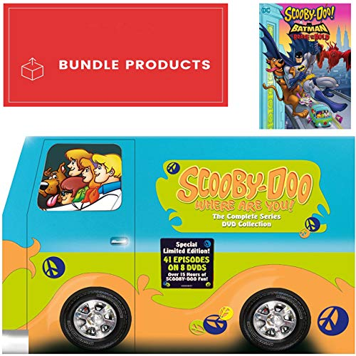 Scooby-Doo, Where Are You!: Complete Series + Scooby-Doo! & Batman: The Brave and the Bold Bundle DVD Set (Scooby Doo Tv Series Dvd)