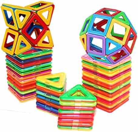 DreambuilderToy Magnetic Tiles Building Blocks Toys (40 PCS)