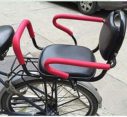 ZXZXZX Silla Bicicleta niño, Asiento para NiñOs En Bicicleta ...