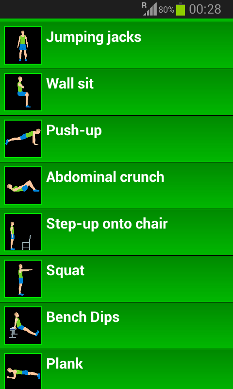 Amazon 7 Minute Workout Appstore For Android