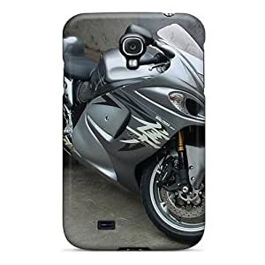 Shock Absorbent Hard Phone Case For Samsung Galaxy S4 With Custom Lifelike Hayabusa Pictures