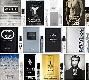 High End Designer Fragrance Sampler for Men - Lot x 12 Cologne Vials from .