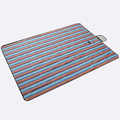 FUWUX Home FeuchtigkeitsBesteändige Rasenfeldtourismus-Picknickmatte des Teppichs Teppichs Teppichs im Freien tragbare Rasensitzvorstadtfaltens Wasserdichte Matte (Größe   145  200cm) B07L5RMDZQ | 2019  3c4c4c