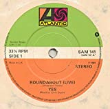 roundabout / i've seen all good people (live) 45 rpm single