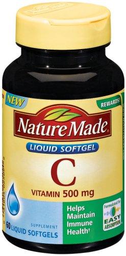Nature Made Vitamin 500mg Softgels product image