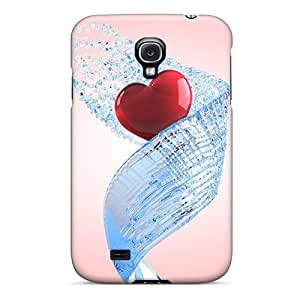 Ultra Slim Fit Hard Goodfashions2001 Cases Covers Specially Made For Galaxy S4- Love 3d Black Friday