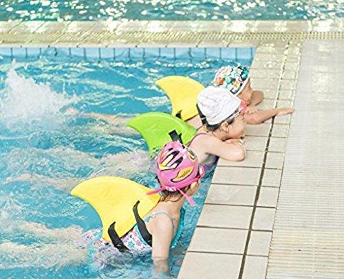 Kid Shark Swim Fin Animal Swim Ring Float Toy Aid Pool Floats Import It All