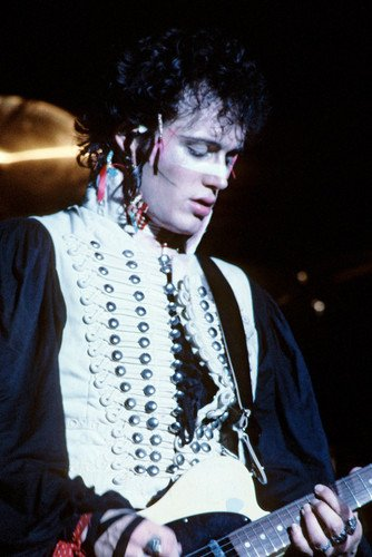 adam-ant-in-costume-on-stage-concert-24x36-poster