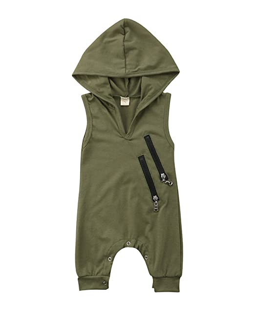Mother & Kids The Cheapest Price Newborn Clothes Long-sleeved Jumpsuit Star Print Hooded Zipper Jumpsuit Baby Girls Boys Romper Stars Hooded Romper Outfits Be Novel In Design Boys' Baby Clothing