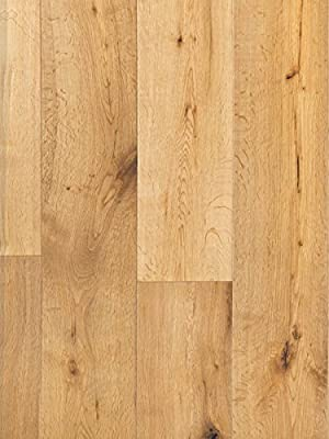 Great Republic European Oak Wood Flooring | Durable, Strong Wear Layer | Engineered Hardwood | Floor SAMPLE by GoHaus
