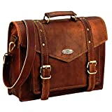 Handmade World Leather Messenger Bags for Men Women