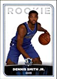 2017-18 Panini NBA Stickers #200 Dennis Smith Jr. Dallas Mavericks Rookie Basketball Sticker