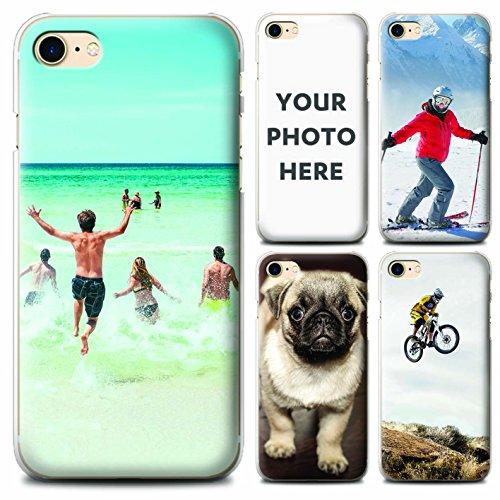 STUFF4 Personalisiertes Foto Handyhülle zum Apple iPhone 8 / Anpassen/Erstellen/Entwurf/Mach dein eigenes
