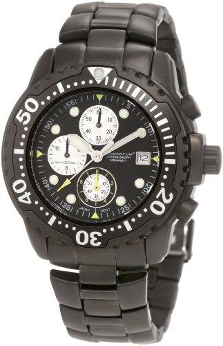 Momentum-Mens-1M-DV88B0-Shadow-II-Chrono-Black-PVD-Bracelet-Watch