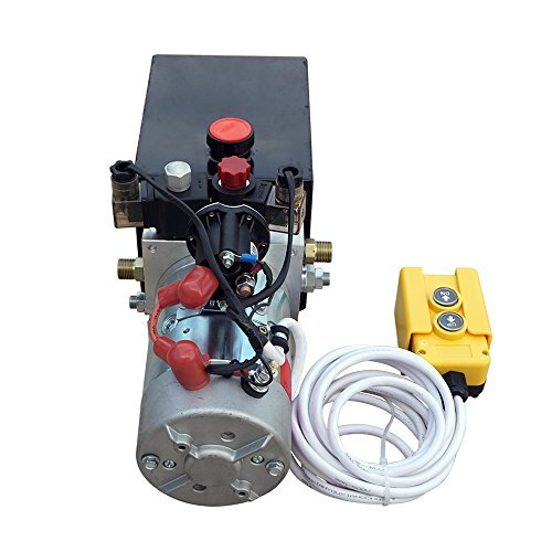 Fisters trailer pump 3 Quart 12V  electric  Hydraulic Power Double/single acting Power-Up Supply Unit for Dump Truck(3 Quart Double Acting) by Fisters (Image #4)