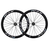 ICAN 50mm Cyclocross Bike Carbon Disc Brake Wheelset 29er Clincher Quick Release Hub 100 x 9mm/135 x 9mm