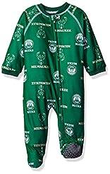 NBA Infant Print Zip Up Coverall Sleepwe...