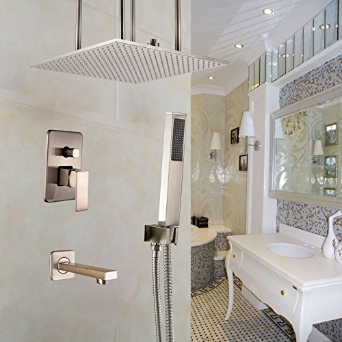 Mount Faucet Tub Ceiling (Rozin Bath Ceiling Mount 20