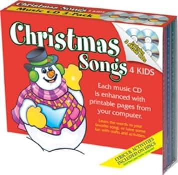 Christmas Songs 4 Kids 3 CD Set