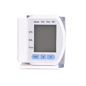 YHMMOO Tensiómetro de Brazo Cómodas y Precisas con Gran Pantalla LCD para Uso Clínico y Doméstico 60 Memoria,White: Amazon.es: Deportes y aire libre
