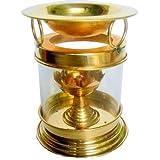 Collectible India Large Diya Oil Lamp Brass Diffuser Diwali Diya Decoration