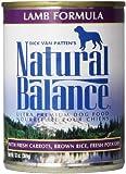 Natural Balance Lamb and Brown Rice Formula Dog Food (Pack of 12 13-Ounce Cans)