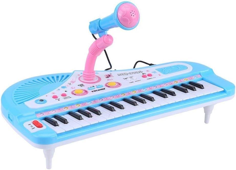 LinHut Exquisito Piano electrónico Teclado Electrónico Piano ...